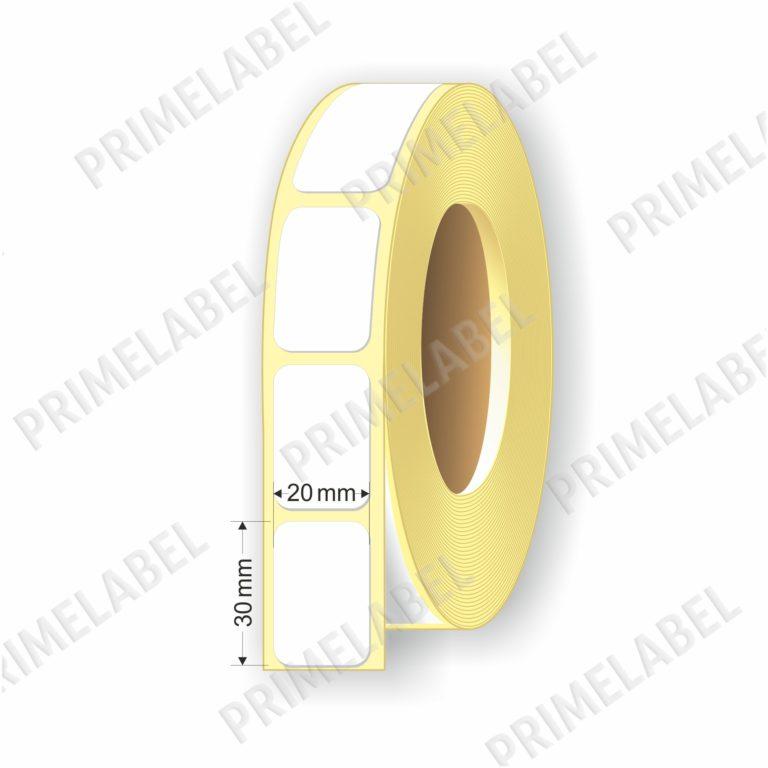 Термоэтикетка размером 20х30 мм ЭКО картинка-схема