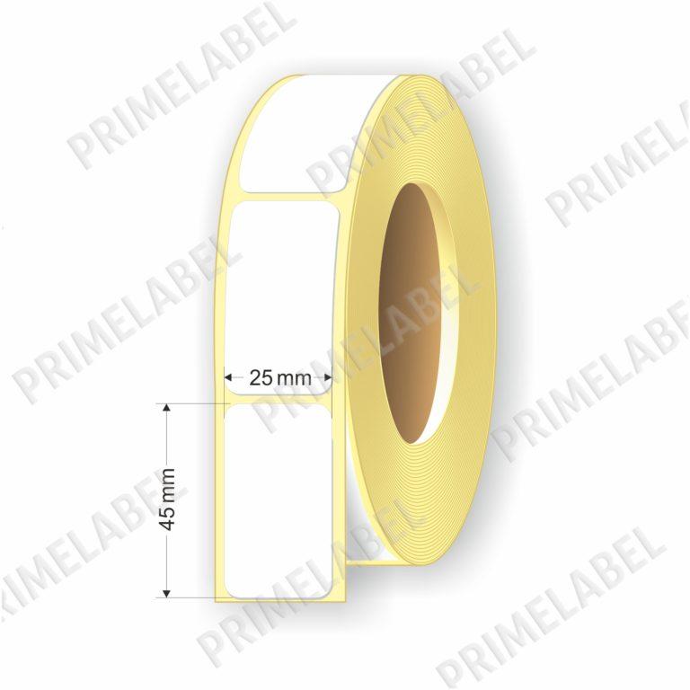 Термоэтикетка размером 25х45 мм ЭКО картинка-схема