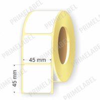 Термоэтикетка размером 45х45 мм ЭКО картинка-схема