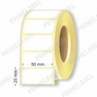Термоэтикетка размером 50х25 мм ЭКО картинка-схема