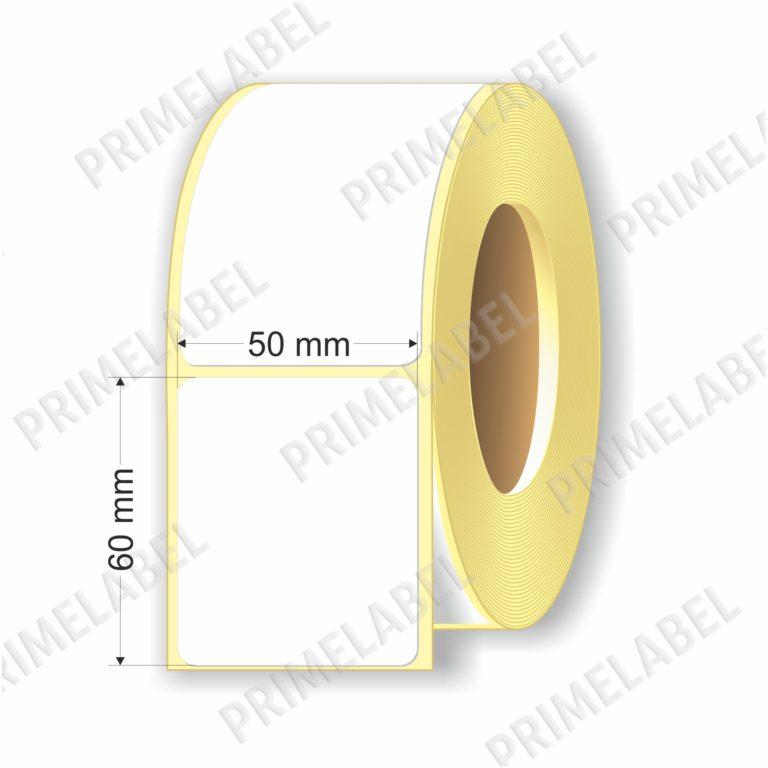 Термоэтикетка размером 50х60 мм ЭКО картинка-схема