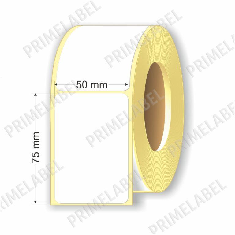 Термоэтикетка размером 50х75 мм ЭКО картинка-схема