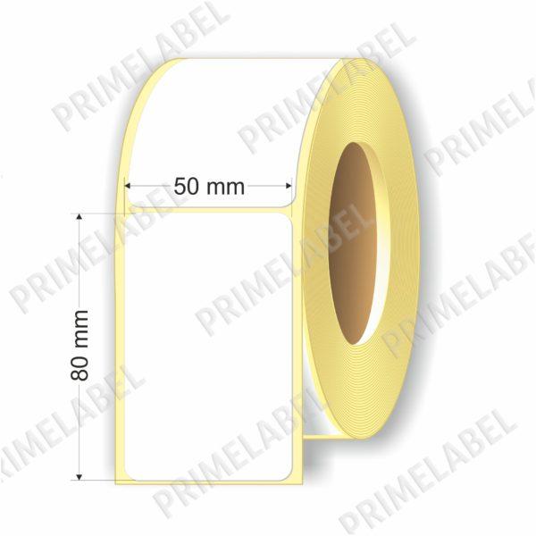 Термоэтикетка размером 50х80 мм ЭКО картинка-схема