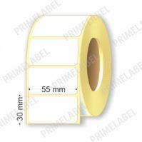 Термоэтикетка размером 55х30 мм ЭКО картинка-схема