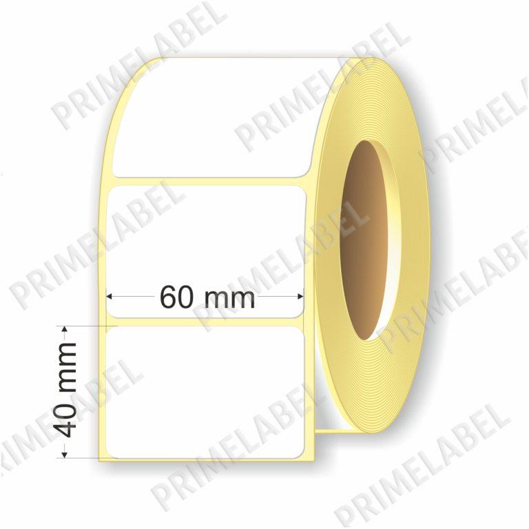 Термоэтикетка размером 60х40 мм ЭКО картинка-схема