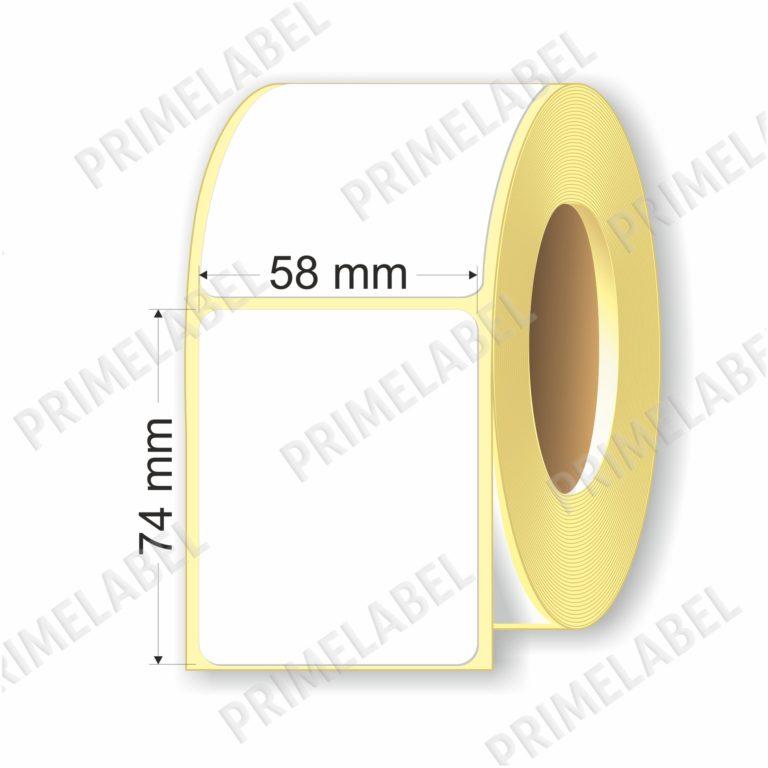 Термоэтикетка размером 58х74 мм ЭКО картинка-схема