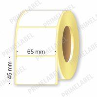 Термоэтикетка размером 65х45 мм ЭКО картинка-схема