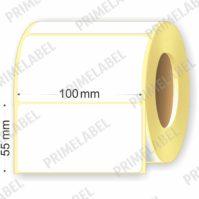 Термоэтикетка размером 100х55 картинка-схема