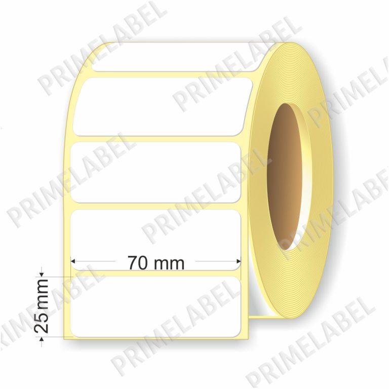 Термоэтикетка размером 70х25 мм ЭКО картинка-схема