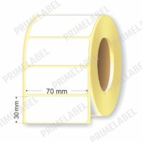 Термоэтикетка размером 70х30 мм ЭКО картинка-схема