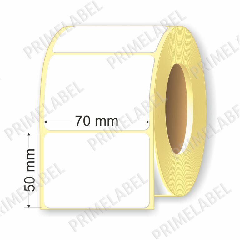 Термоэтикетка размером 70х50мм ЭКО картинка-схема