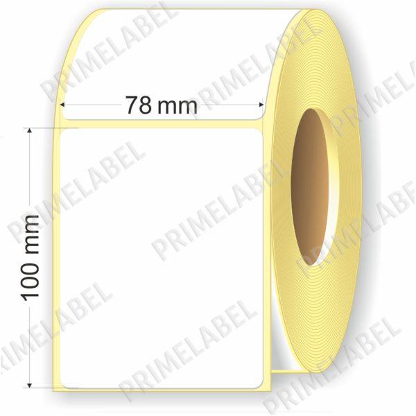 Термоэтикетка размером 78х50 мм ЭКО картинка-схема