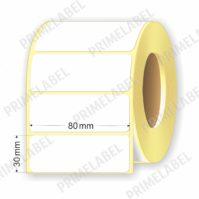 Термоэтикетка размером 80х30 мм ЭКО картинка-схема