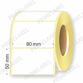 Термоэтикетка размером 80х50 мм ЭКО картинка-схема