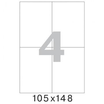 Самоклеящиеся этикетка А4 105х148