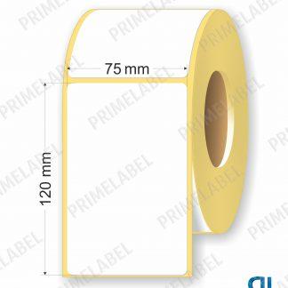 Термоэтикетка размером 75х120 мм ЭКО картинка-схема